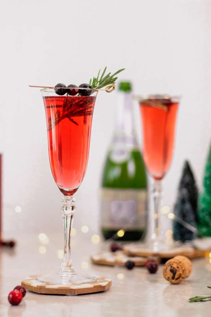 Poinsettia Cocktail Recipe