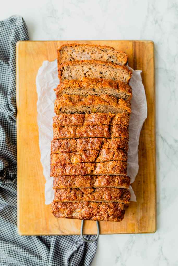 Easy Banana Walnut Bread Recipe