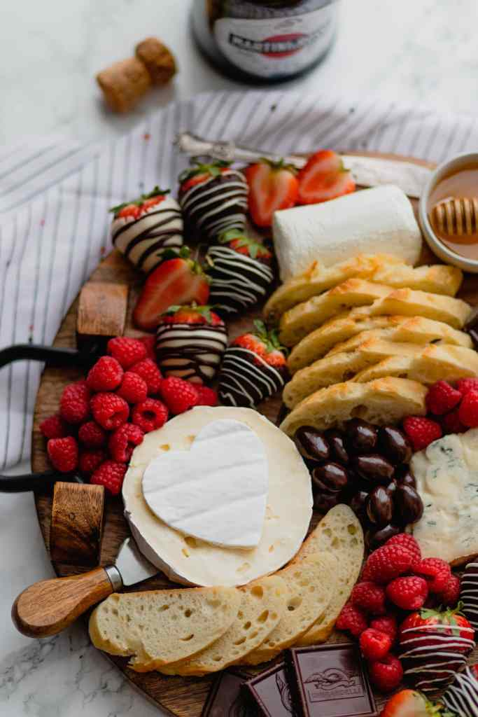 Galentine's Cheeseboard for Three