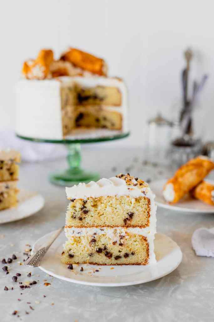 Cannoli Cake Recipe