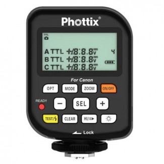 The Phottix Odin works together with the LP180R, giving me not only remote power control, but also full TTL capability.