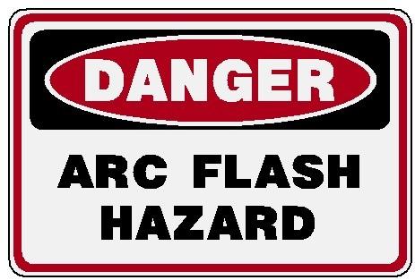 Danger - Arc Flash Hazard Image