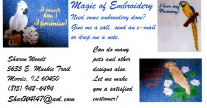 MAJIC OF EMBROIDERY