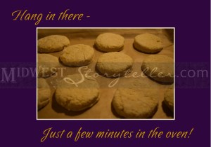 Biscuits Ready for the Oven www.midweststoryteller.com