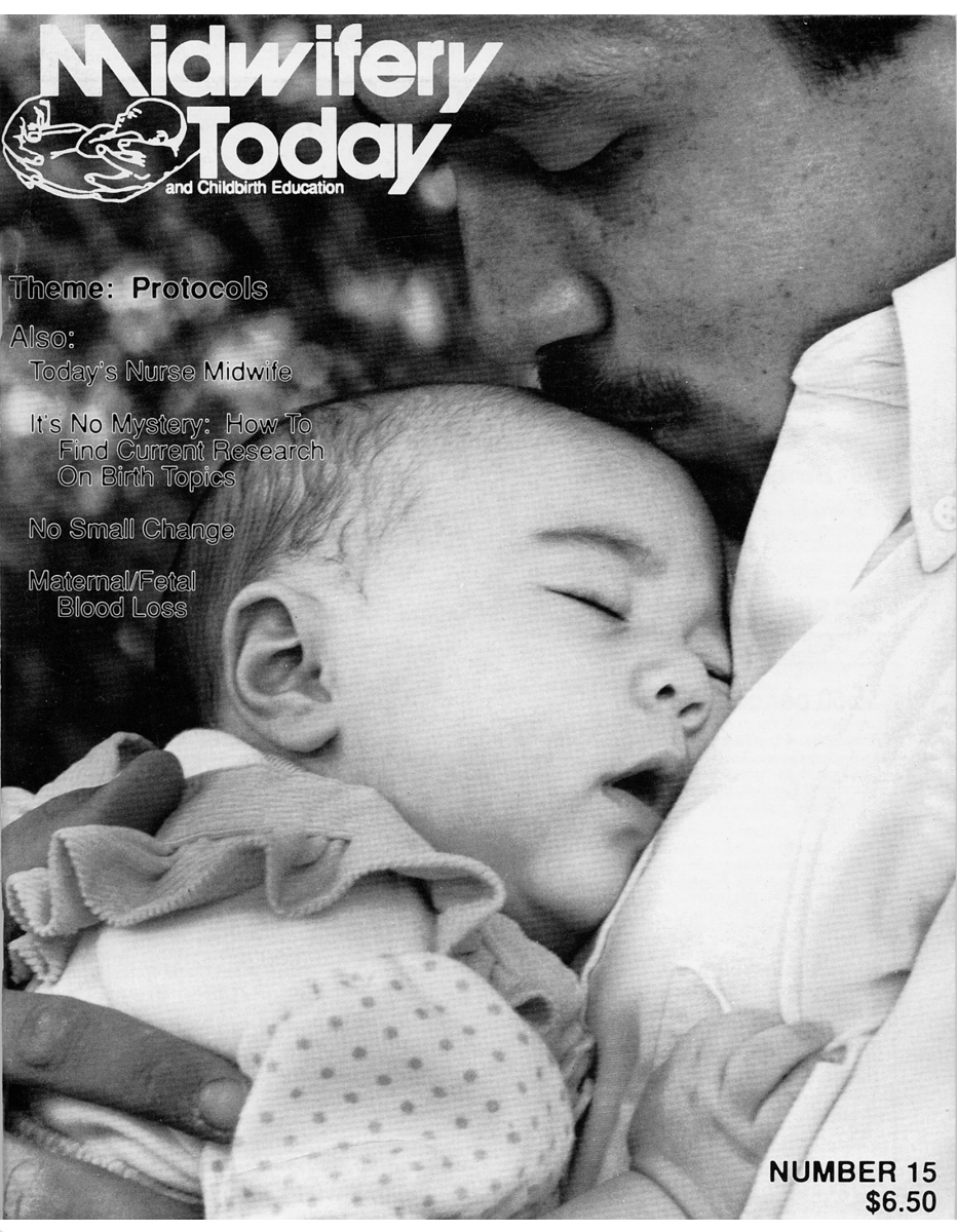 Midwifery Today Issue 15