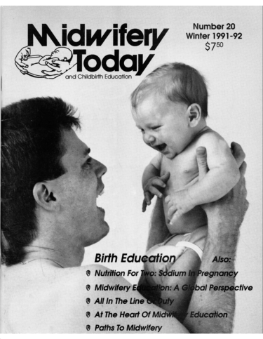 Midwifery Today Issue 20