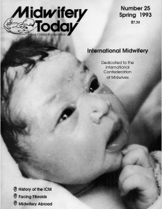 Midwifery Today Issue 25