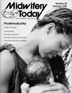 Midwifery Today Issue 38