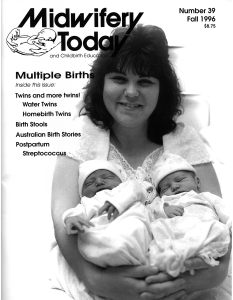 Midwifery Today Issue 39