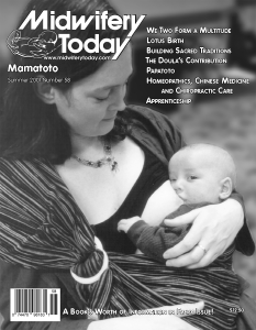 Midwifery Today Issue 58