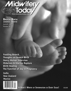 Midwifery Today Issue 83