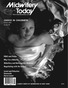 Midwifery Today Issue 86