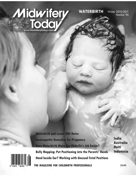 Midwifery Today Issue 96