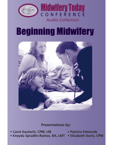 Beginning Midwifery CD set