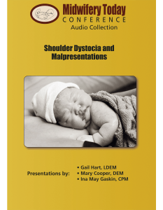 Shoulder Dystocia and Malpresentations, CD set