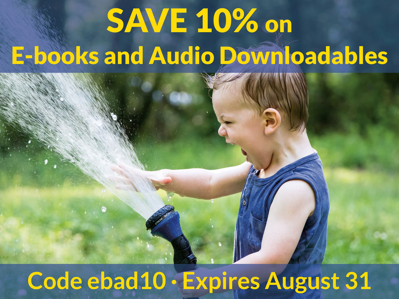 Save 10% on books and audio downloads