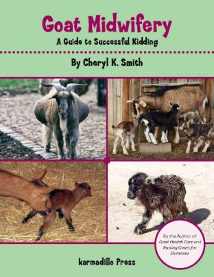 Book cover Goat Midwifery: A Guide to Successful Kidding