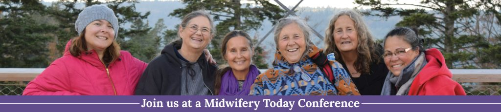 Midwifery Today Conference Banner