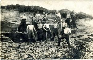 Freibad-1926-Bau