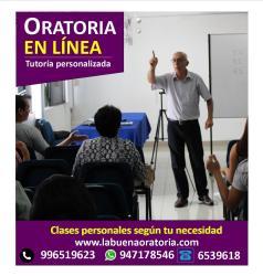 Curso virtual de Oratoria (Jueves 7 pm a 9:15 pm.) Inicio Jueves 4 Febrero