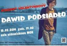2014-02-07-Dawid-Podsiadlo-koncert-walentynkowy@Glogow-plakat dawid podsiadlo