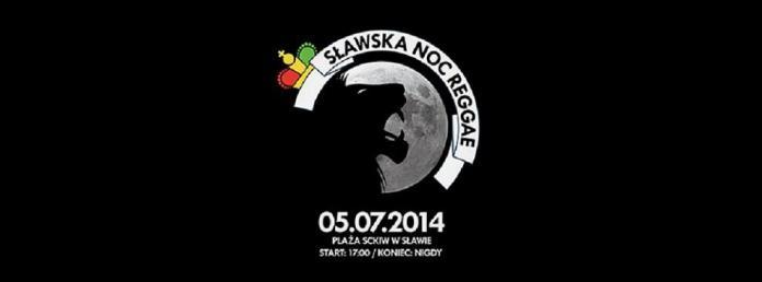 sławska noc reggae plakat
