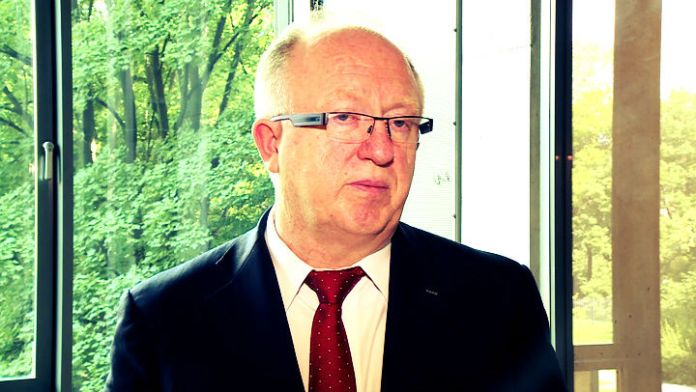 Zdjęcie: Herbert Wirth prezes zarządu KGHM Polska Miedź