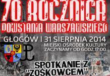 plakat 70 rocznica powstania warszawskiego