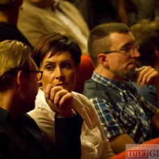 2014-10-18 Terri Lyne Carrington & Michał Urbaniak @MOK (fot.P.Dudzicki) 02