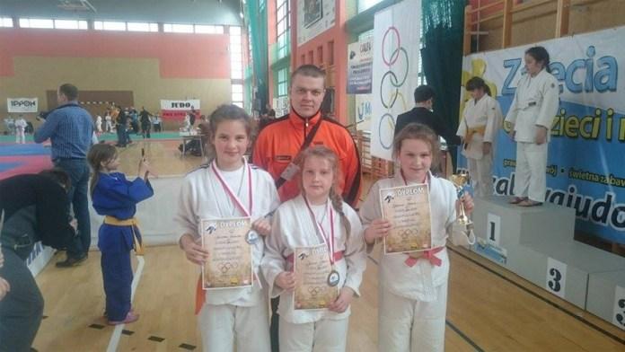 Głogowski klub Judo z najmłodszymi zawodnikami