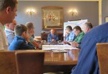 2015-06-26 Drugie spotkanie rowerzystów z władzami Głogowa @Ratusz (fot. UM Głogów)