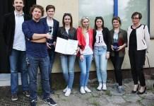2015-06-22 Uczniowie z Gimnazjum nr 2 w Polkowicach nagrodzeni w konkursie filmowym (fot. G2 w Polkowicach)