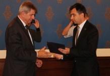 2015-06-19 Prof. Andrzej Zoll odznaczony w Głogowie