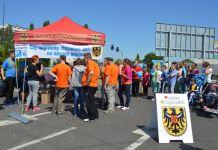 2015-06-13 Kampania Parkingowa w Głogowie @parking Tesco (fot. Starostwo Powiatowe w Głogowie)