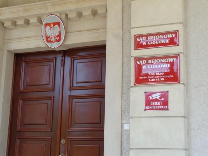 2015-07-18 Głogów prowadził po pijanemu. Trzy osoby nie żyją @Sąd Rejonowy w Głogowie (fot. A.Błaszczyk)