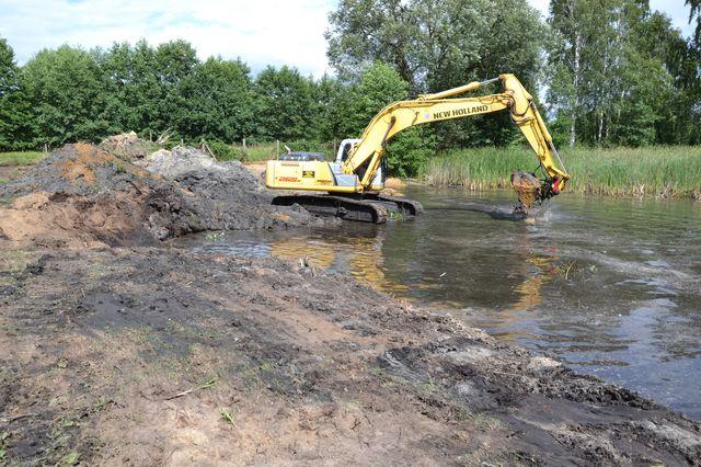 2015-07-29 W Głogówku będzie kąpielisko i plaża @Głogówko (fot. UG Kotla)