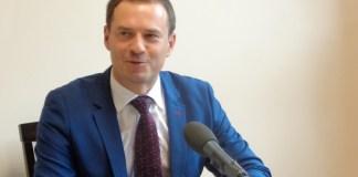 2015-10-21 Piotr Borys stawia na S3 i edukację @ Biuro Poselskie Poseł Ewy Drozd (fot. A. Błaszczyk)