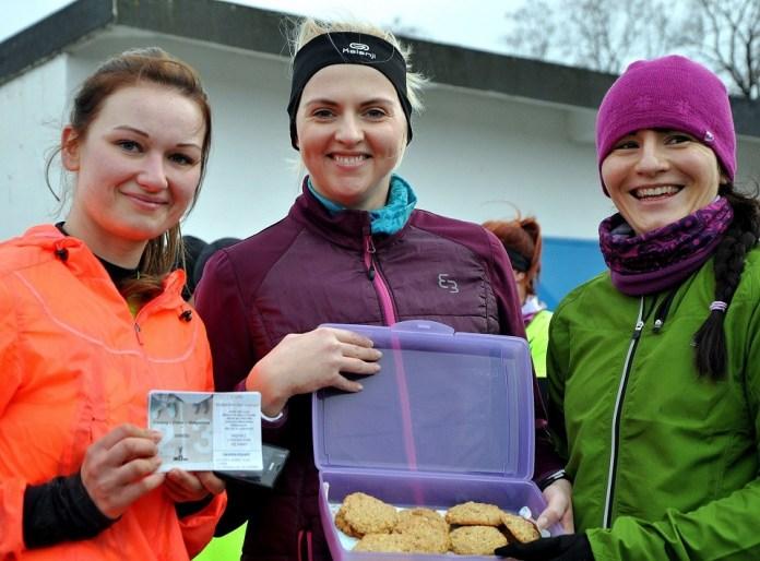 2015-02-23 zdjęcie treningi Cross Straceńcó, Ewelina Wnuk, Karolina Szaran, Karolina Krawczak