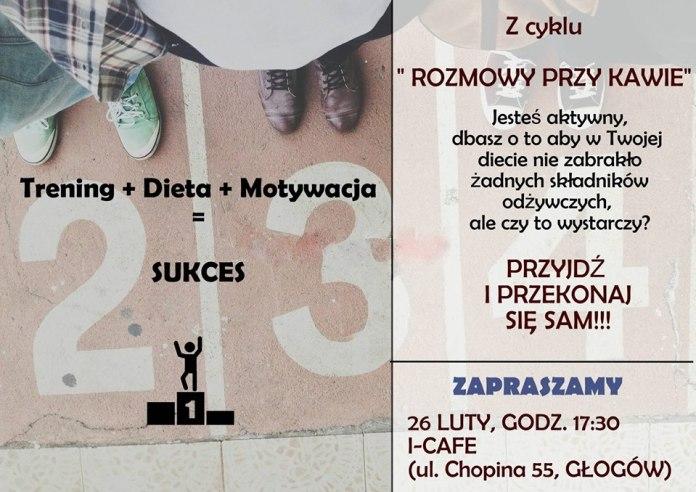 2015-02-23 plakat rozmowy przy kawie, spotkanie, Cross Straceńców, I-cafe
