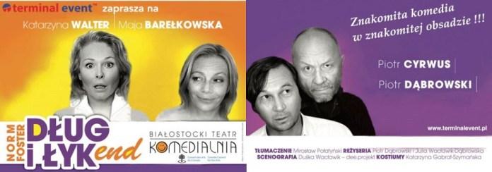 2016-02-16 spektakl Dług i łykend MOK plakat