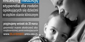 10.02.2016 r. nabór wniosków o stypendia Stowarzyszenia SPES