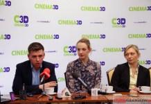 1.03.2016 r. Głogów Qubus, konferencja dot.otwarcia kina Cinema 3D