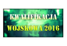 Kwalifikacja wojskowa 2016 baner