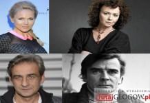 Aktorzy FRF, Kawiarenka Festiwalowa, R. Gonera, A. Samusionek, Z. Malanowicz, A. Szczepkowska