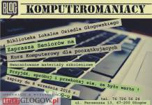 TutajGLOGOW.pl Biblioteka Lokalna Osiedla Głogowskiego kurs komputerowy Komputeromaniacy