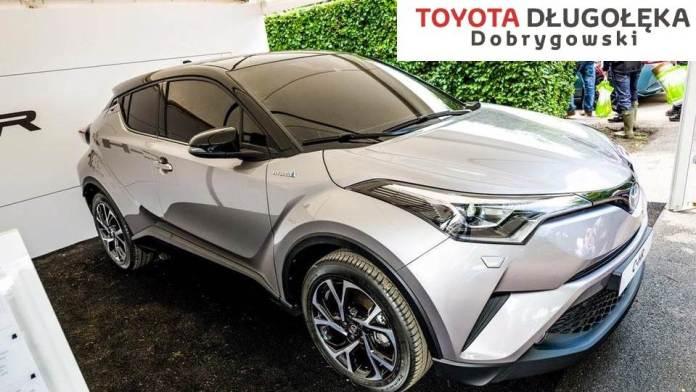 Miedziak.info.pl Toyota C-HR pokaz w Cuprum Arena Lubin Toyota LUBIN Dobrygowski