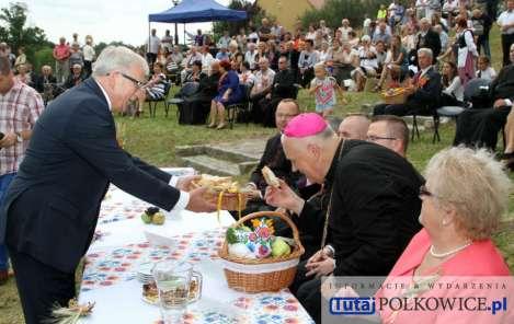 TutajPOLKOWICE.pl 2016-09-04 Polkowice dozynki Powiatowe Święto Plonów Sanktuarium w Grodowcu 01