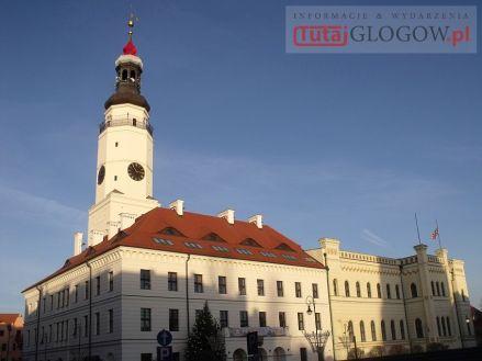 Ratusz na rynku w Głogowie