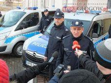 Nowe radiowozy w KPP w Głogowie (5.)