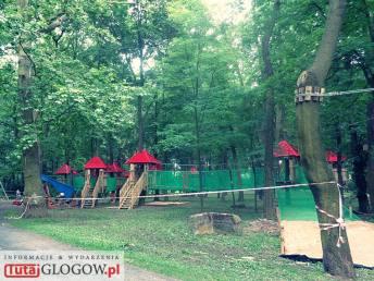 TutajGLOGOW.pl 2017-06-27 park linowy survivalowy ul. Rudnowska Głogów 08
